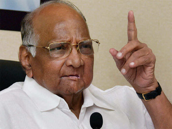 president sharad pawar admitted in breach candy hospital