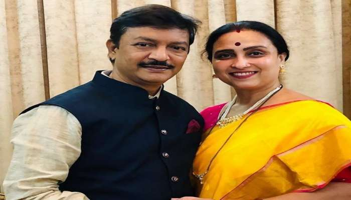 acb-filed-a-case-against-bjp-state- vice president-chitra-wagh-husb and-kishor-wagh