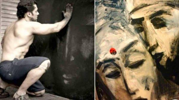 salman-khans-painting-display-at-an-art-exhibition-bengaluru Bengaluru exhibition