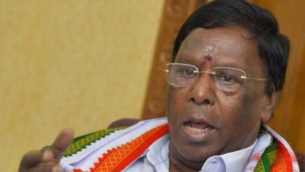 chief-minister-narayanaswamy-resigned-without-giving-a-floor-test-the-second-state-to-fall-to-the-congress-in-11-months