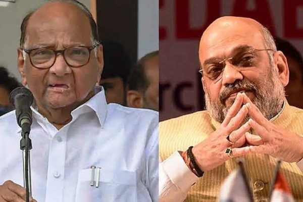 sharad pawar and amit shah Not met in gujarat, says minister Dr. Jitendra Awhad