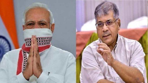 pm-narendra-modi-does-not-believe-in-hindu-nurses-hence-took-the-vaccine-jab-from-christian-nurse-prakash-ambedkar